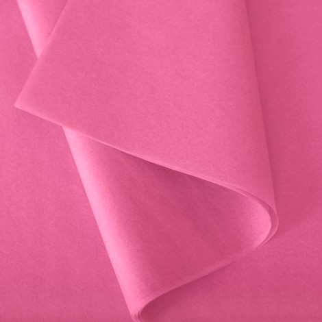 Papier de soie: Rose vif n°820