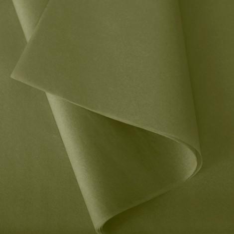 Papier de soie: Vert mousse n°51