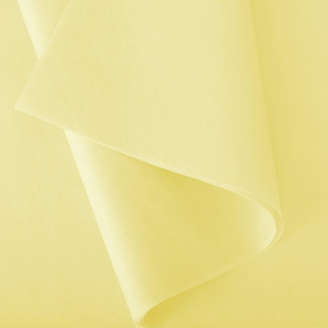 Papier de soie: Jaune pâle n°125