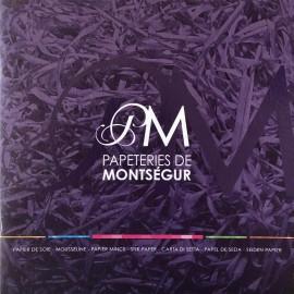 Nuancier des papiers de soie Montségur