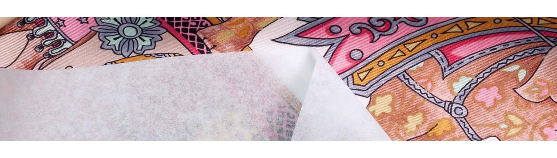 emballage cadeau en papier de soie blanc