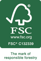 Nos papiers de soie sont certifiés FSC