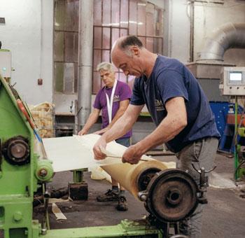 bobine de papier de soie