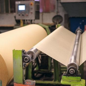 machine à papier de soie 1910 - Montségur