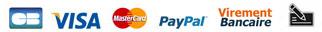 paiement sécurisé CB - Paypal